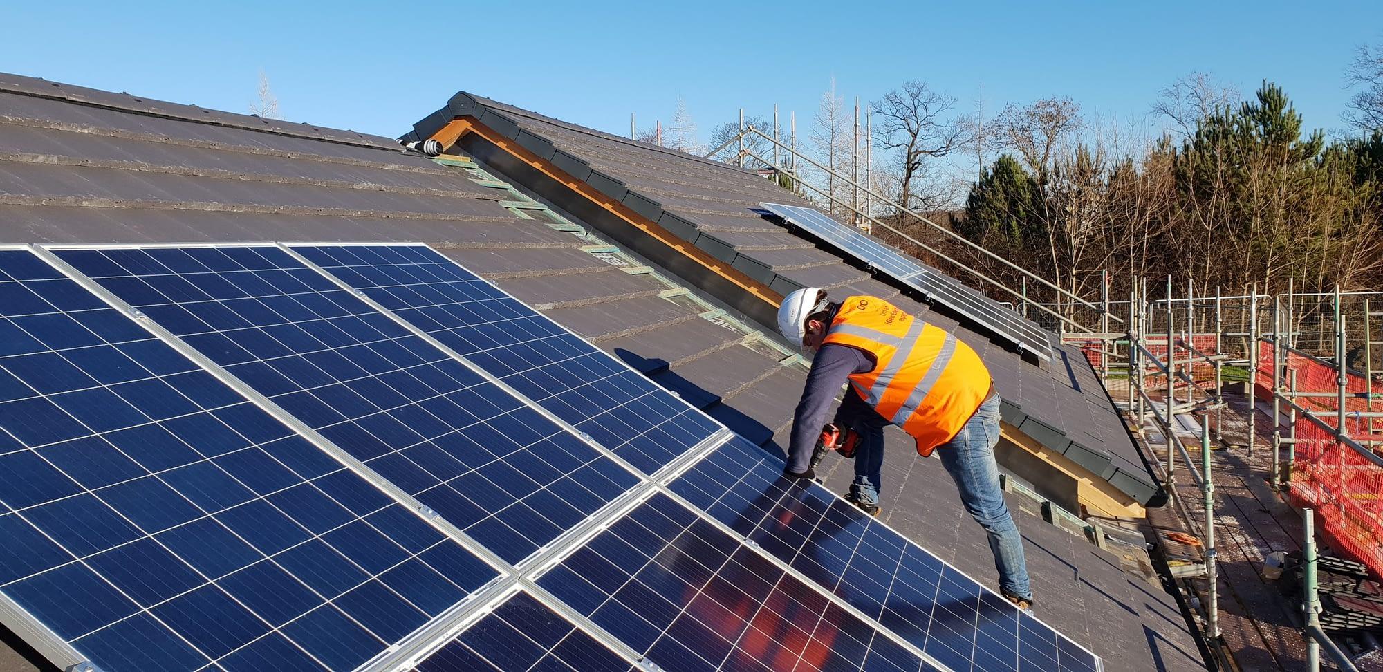 Solar for construction