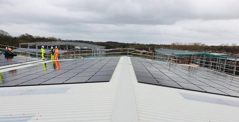 Novus Knutsford Solar Panels