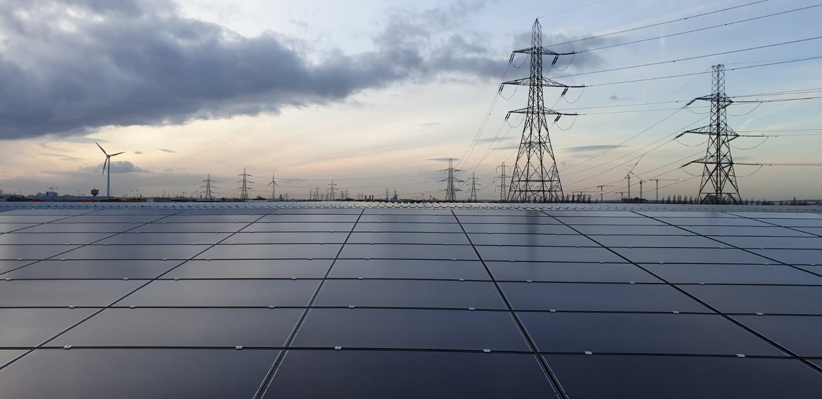 Solar panels for business
