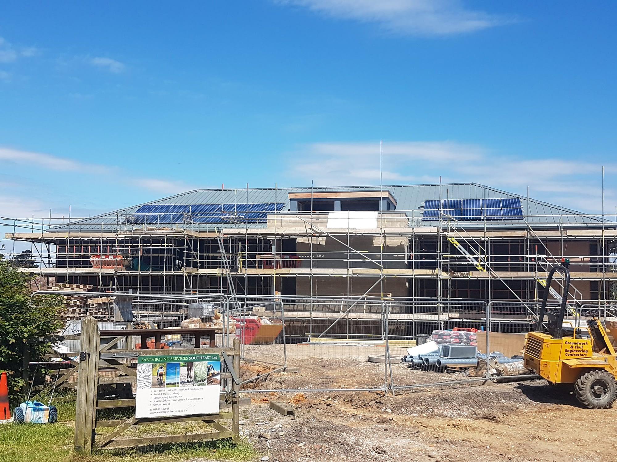 Caterham School solar panels