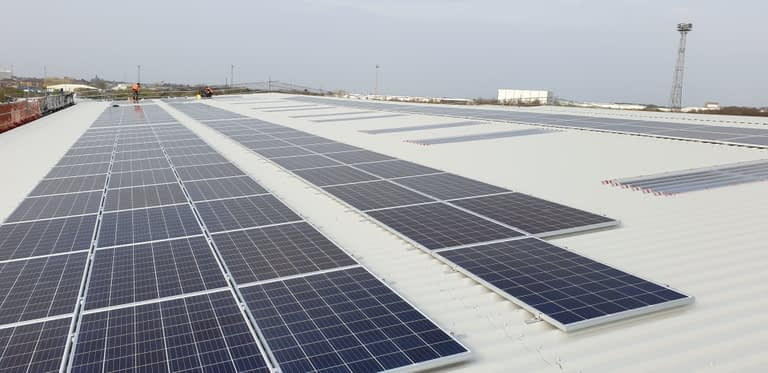 Solar PV Crewe Commercial Park