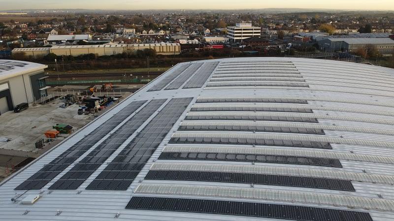 Segro Park Solar Panels
