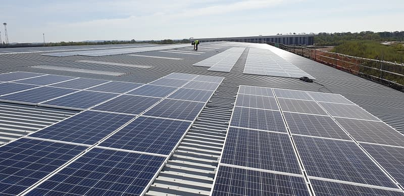 Crewe Commercial Park Solar PV